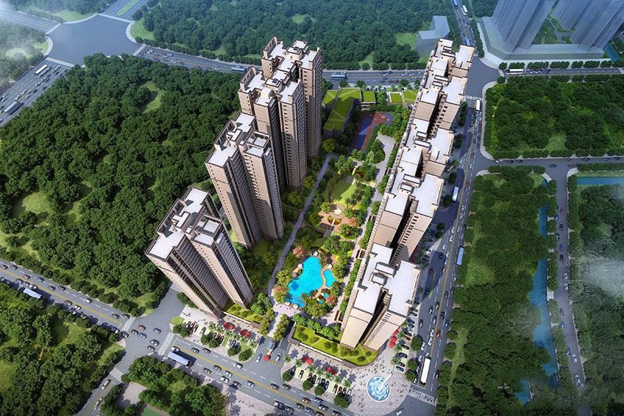碧桂园华润·新城之光效果图