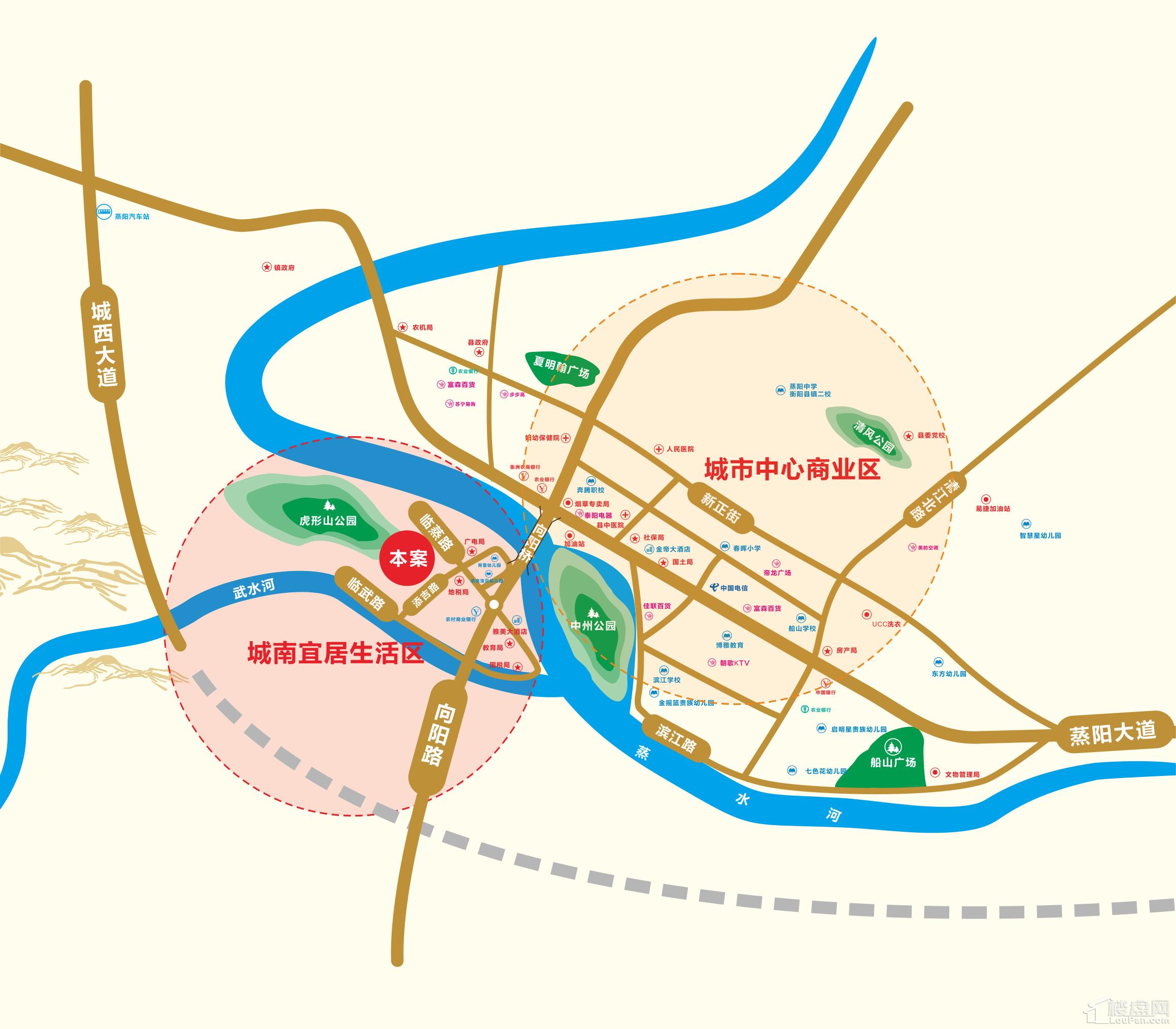 长旭·江山壹号位置图
