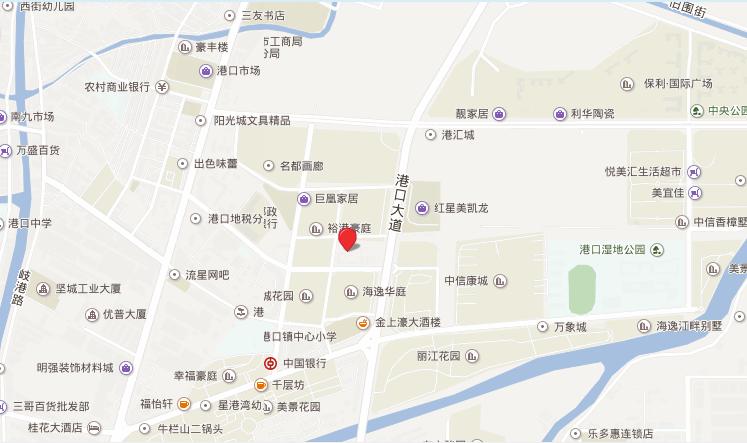 港汇城位置图