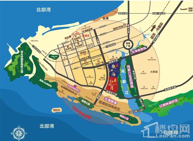 彰泰观江海位置图