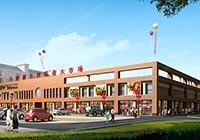 益阳桃江县马迹塘镇中心商业文化广场