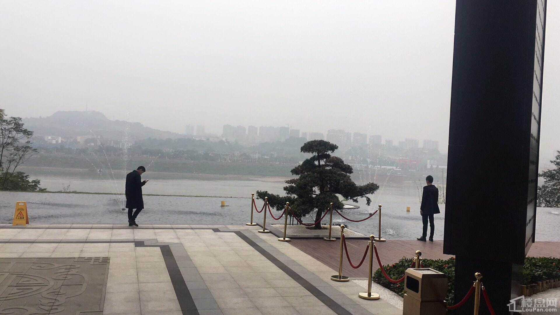 荣盛滨江华府实景图