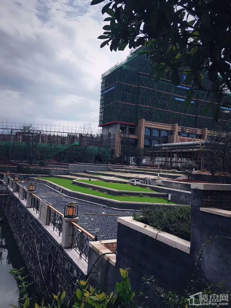 九龙湾一期11月工程进度