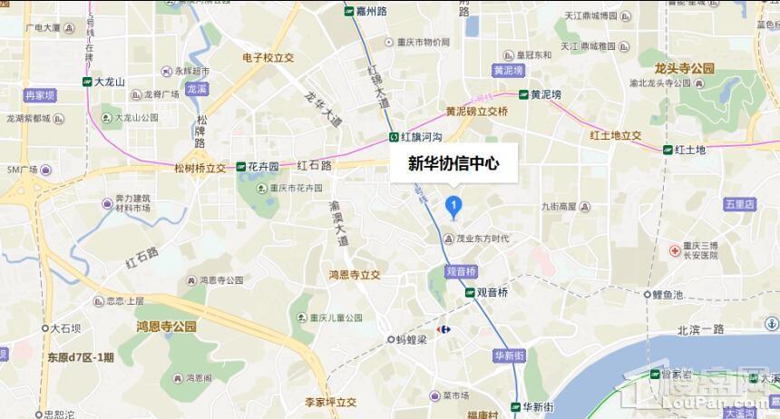 新华协信中心位置图