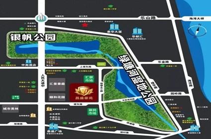 昌盛豪苑位置图
