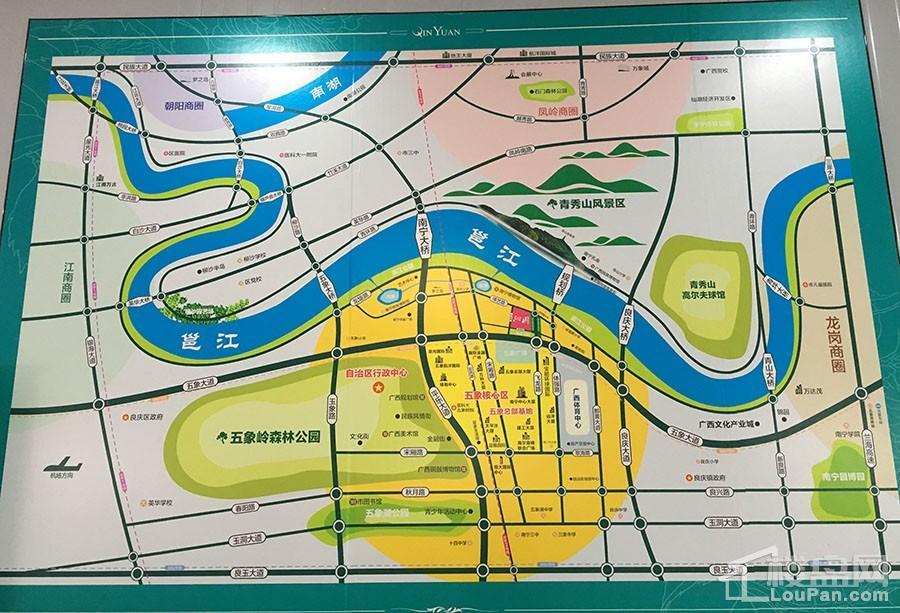 沁园位置图