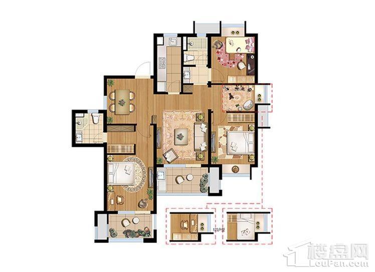 C2户型 - 3号楼高层东边户标准层