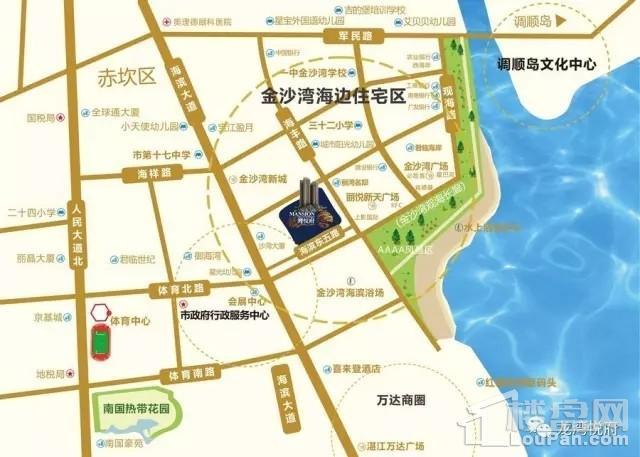 龙湾悦府位置图