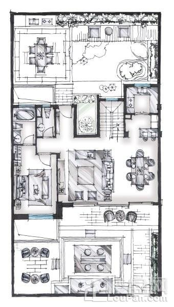 270平户型 - 联排别墅
