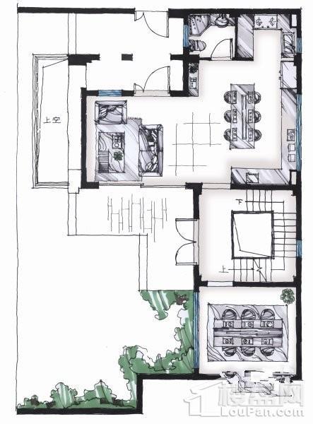 215平户型 - 联排别墅