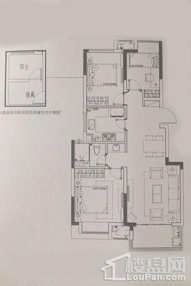 户型 - 洋房85平