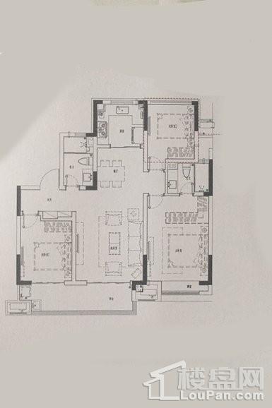 户型 - 洋房105平