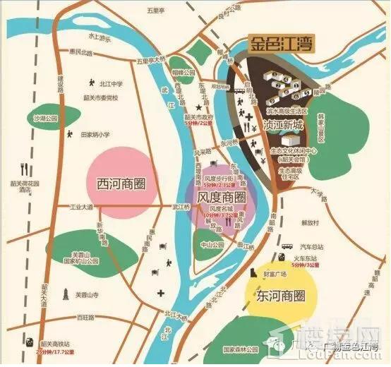 金色江湾区位交通图