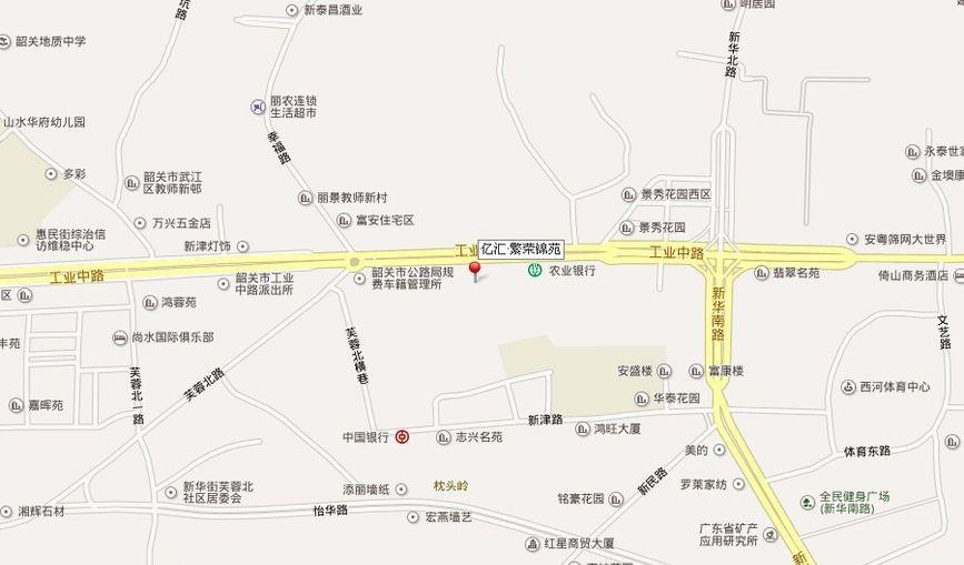 繁荣锦苑位置图