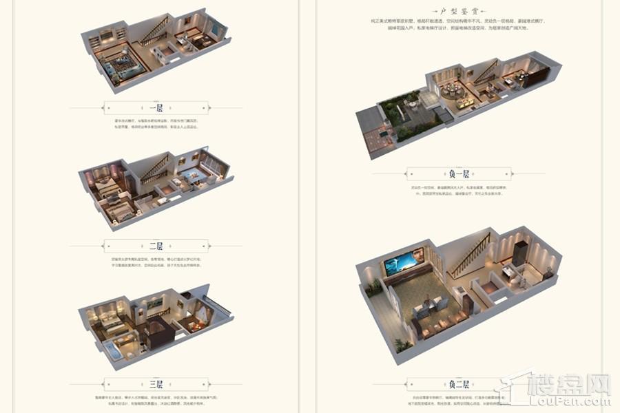 项目联排别墅B2户型
