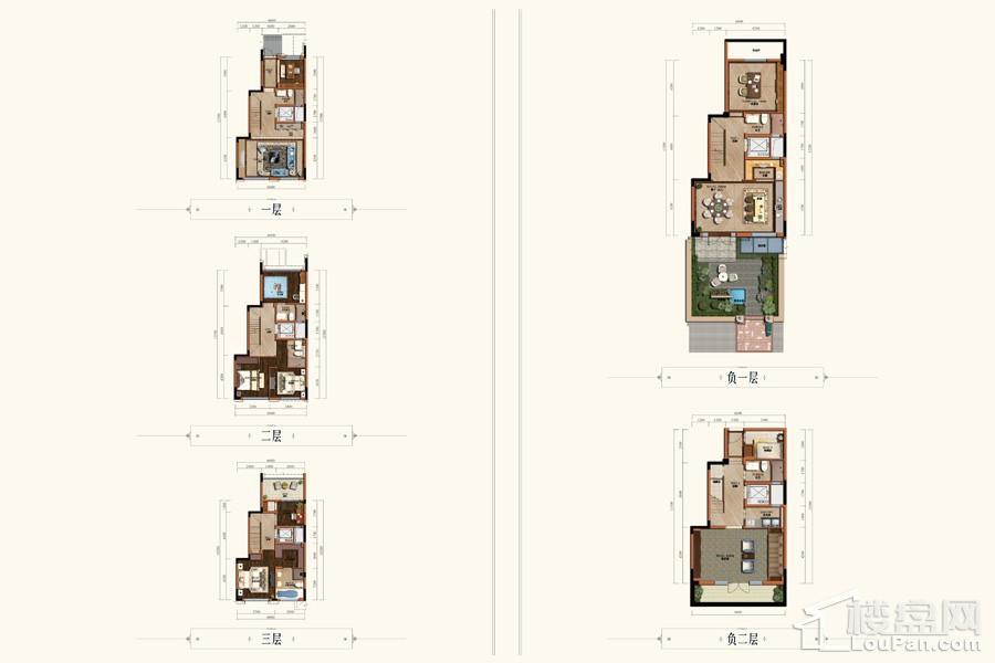项目联排别墅B3户型