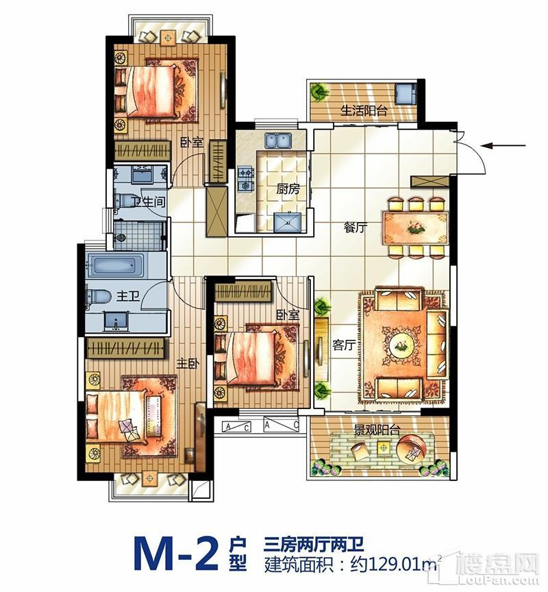M-2户型