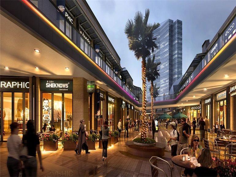 阳光天地商业街