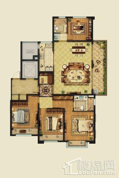 24#32#C户型建筑面积143平