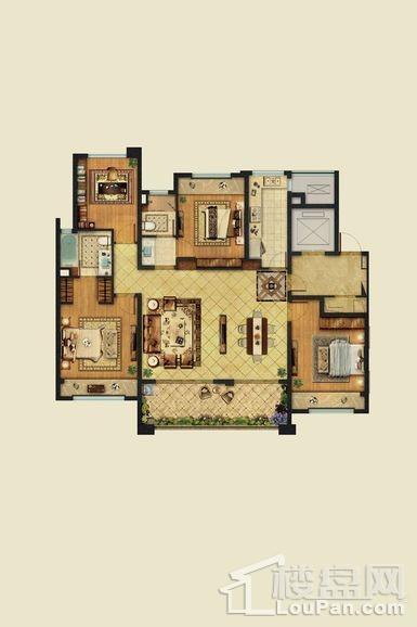 24#B户型建筑面积141平