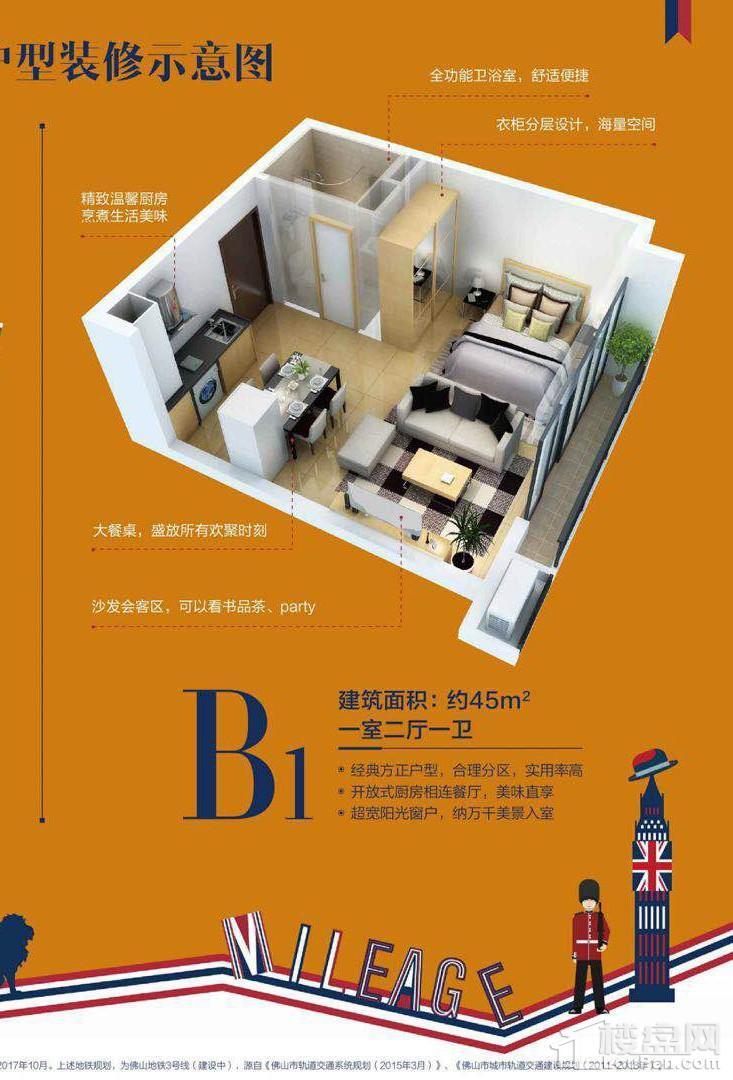 公寓B1户型