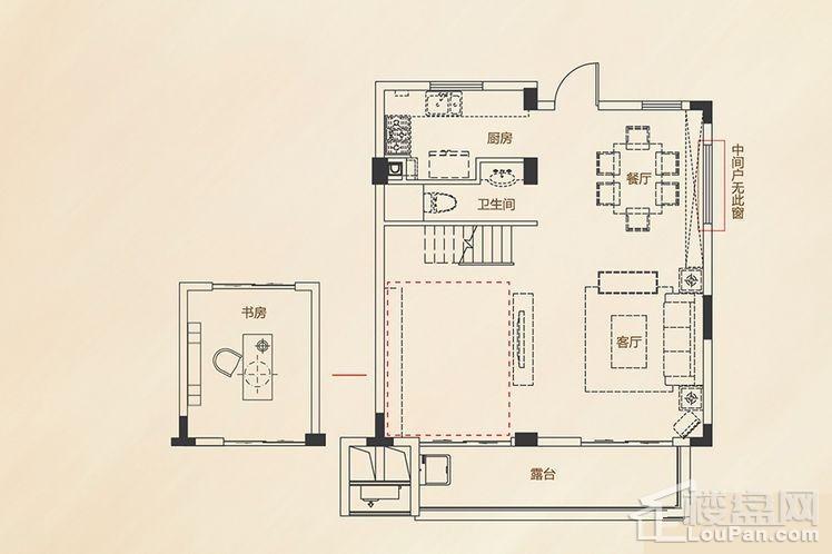 B4户型 - 别墅