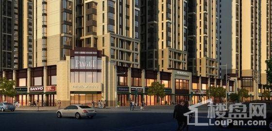 滨河新东城商铺实景图
