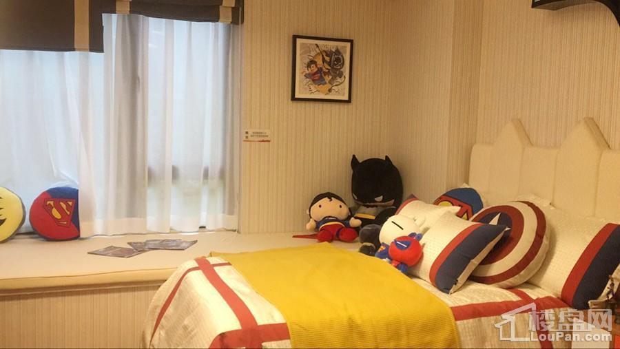 西城1号115㎡样板间卧室