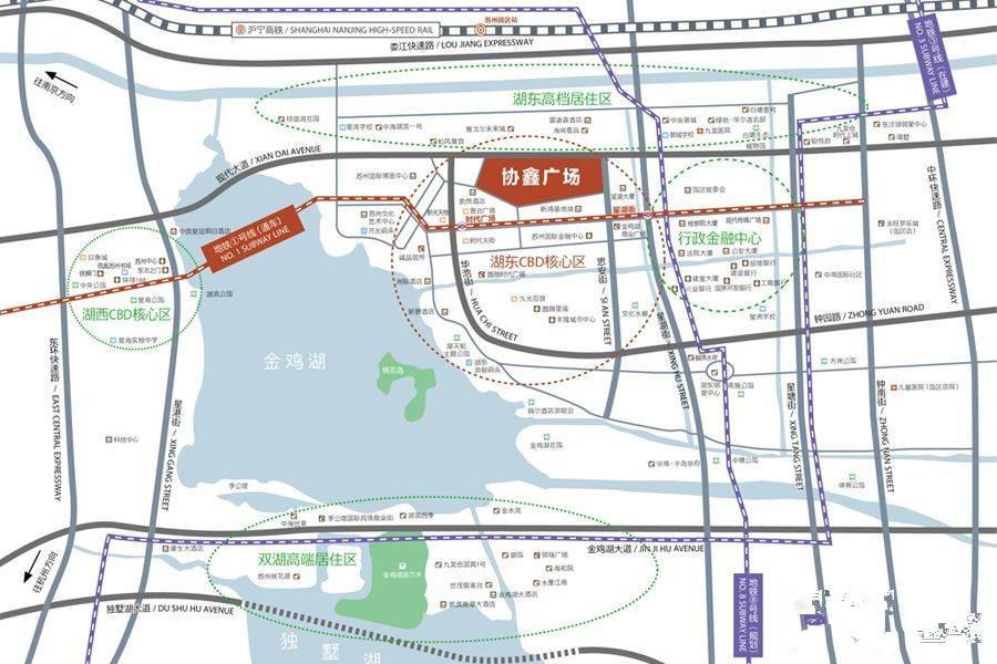 协鑫广场位置图