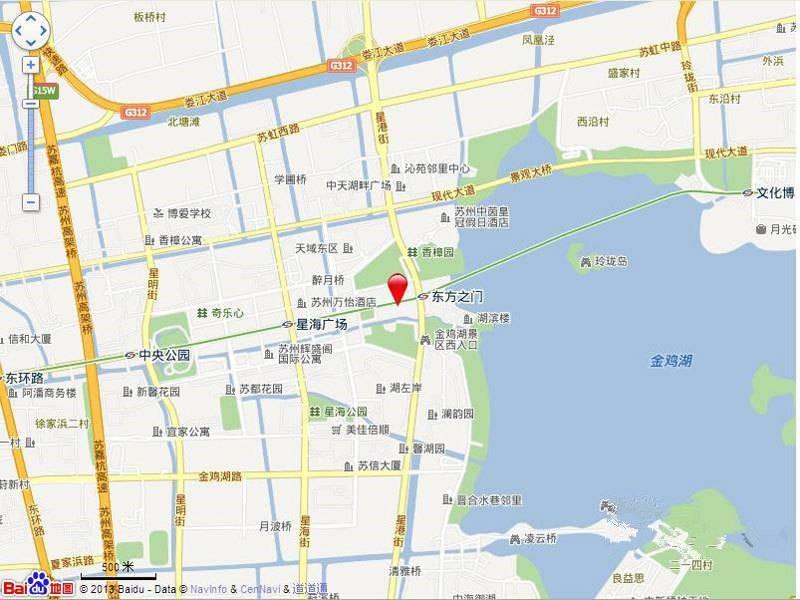 东方之门位置图