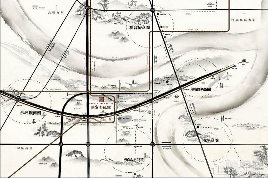 国宾壹号院位置图