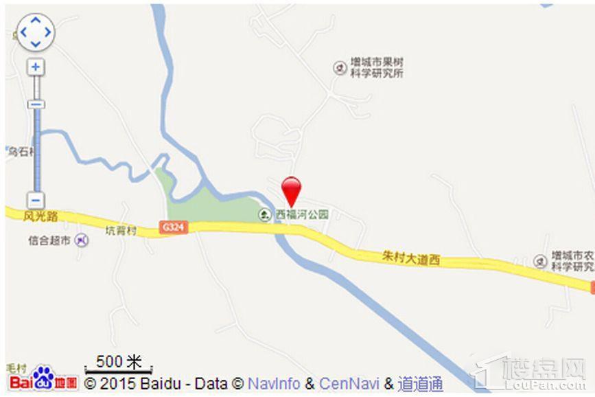 中铁国际花园位置图