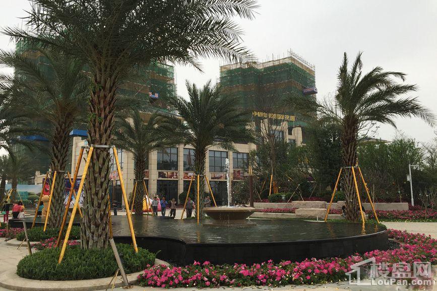 中铁国际花园实景图