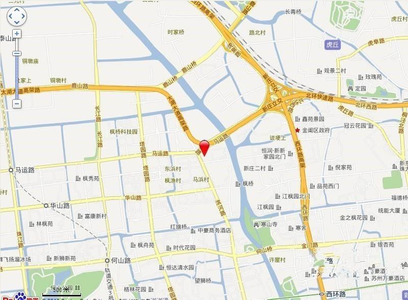 蓝天广场位置图