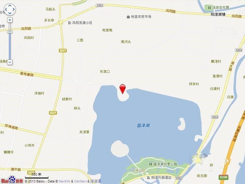 一湾湖墅位置图