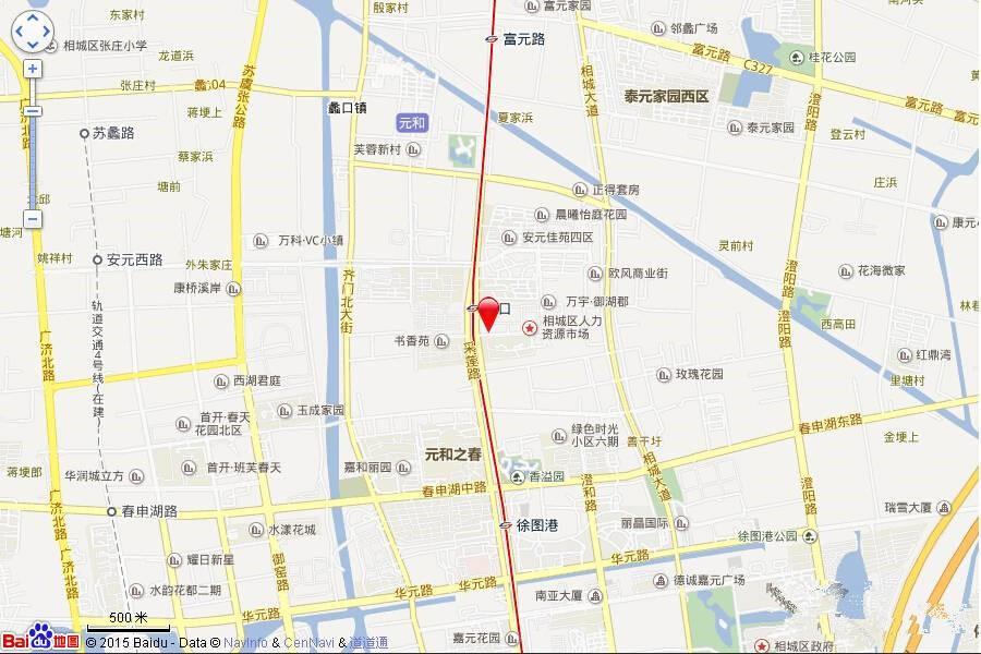 中粮祥云国际位置图