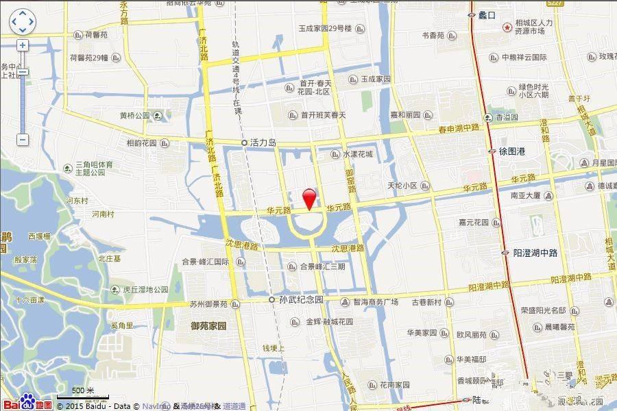 苏州魅力花园位置图