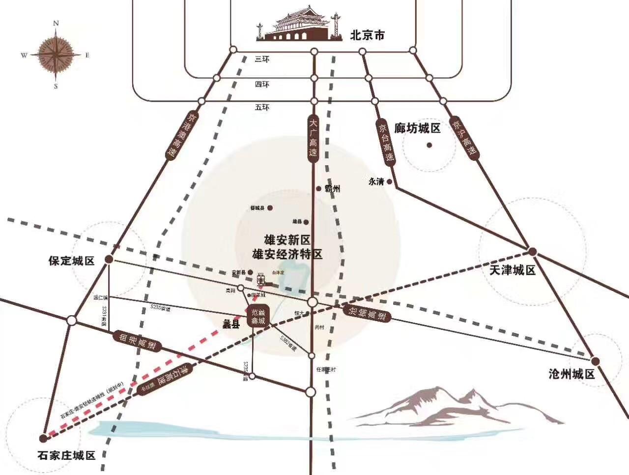 范蠡鑫城效果图
