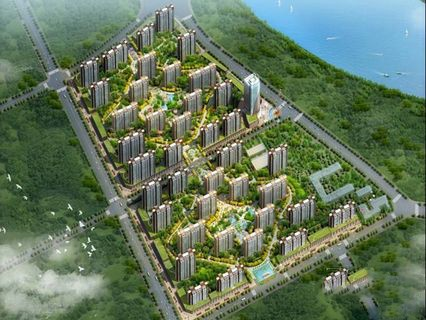 滨河新东城 效果图