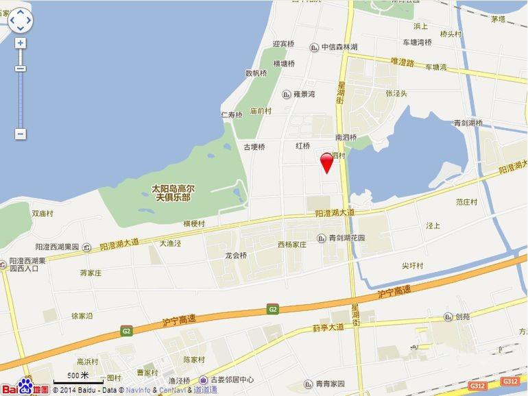 星湖都市生活广场位置图