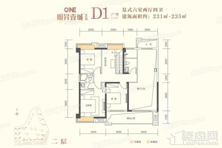 D1户型2F