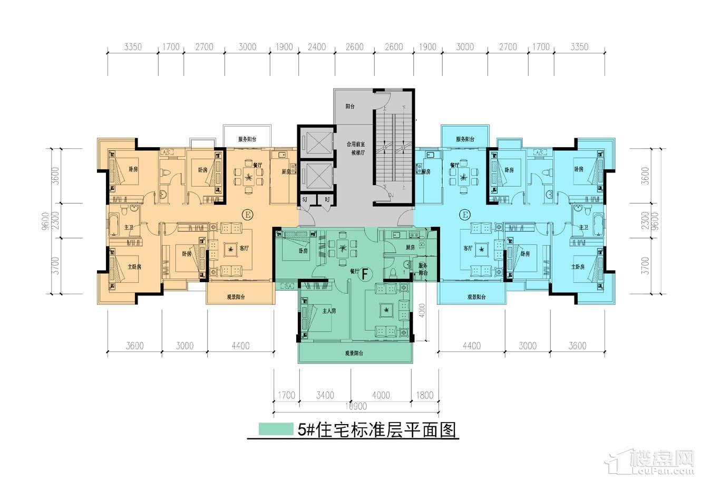 中耀·林溪湾5#栋户型图