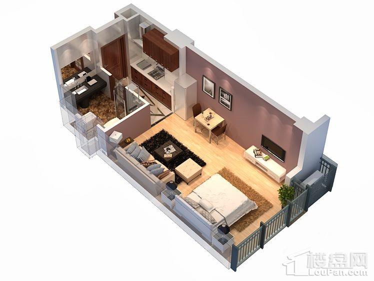 1#3#公寓标准层B户型