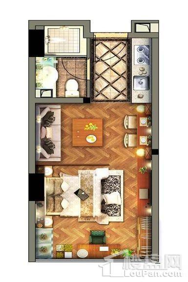 公寓标准层D1户型