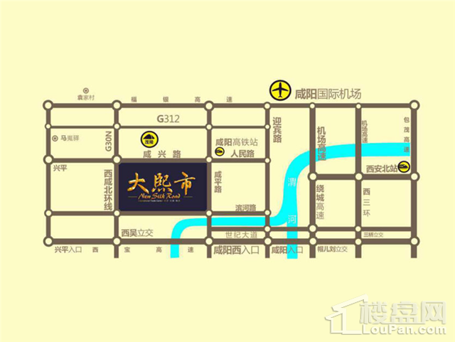 大熙市位置图