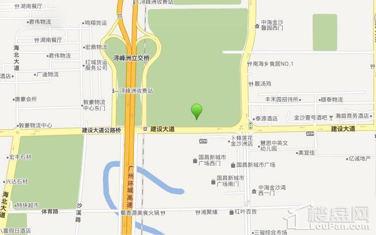 星港城位置图
