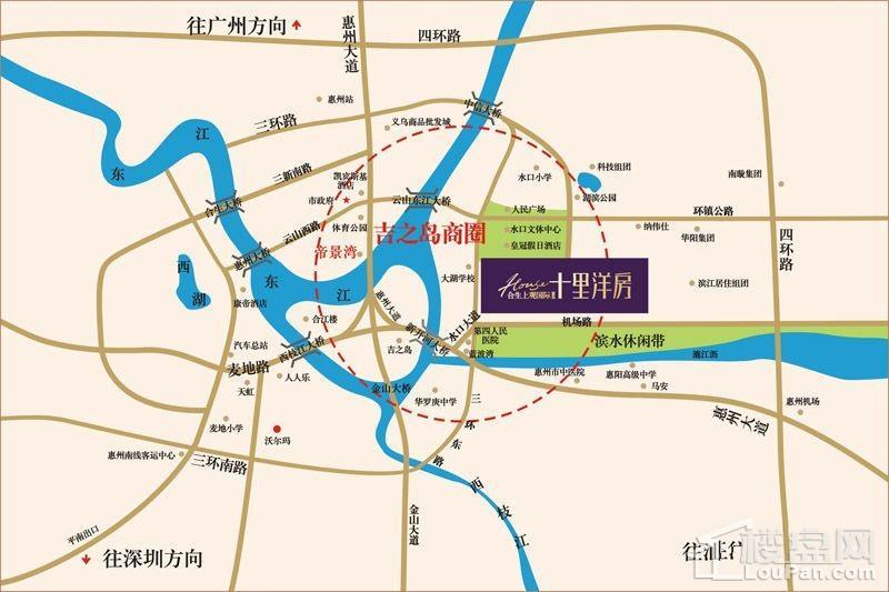 合生国际新城位置图