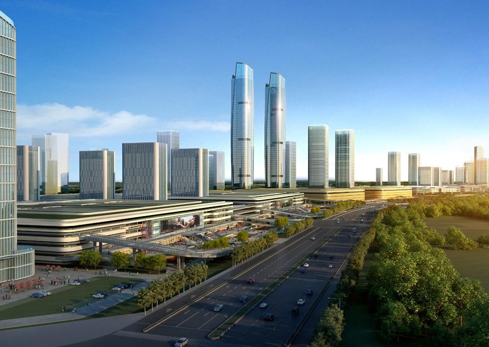 岳塘国际商贸城实景图