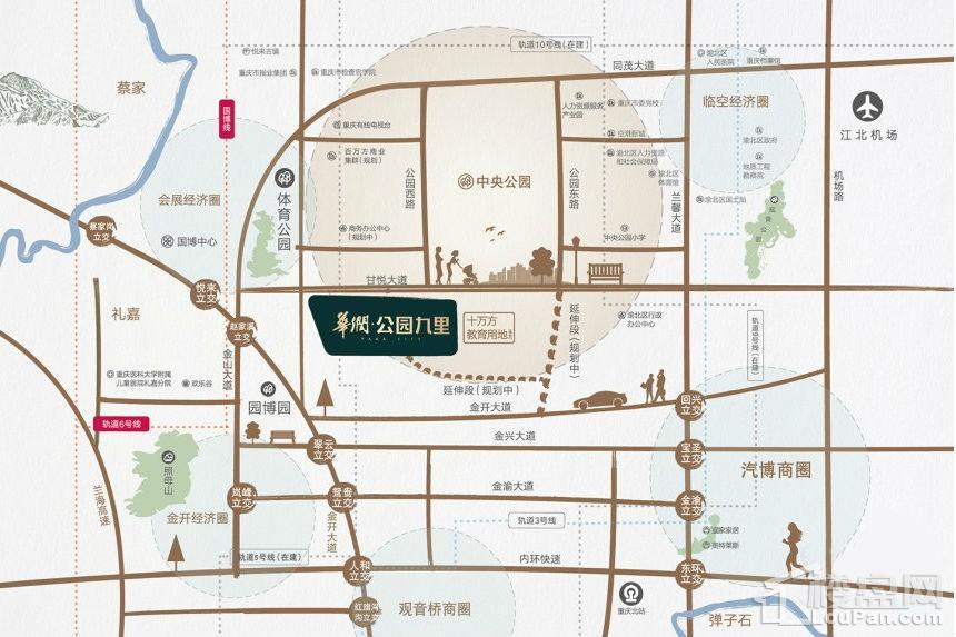 华润公园九里位置图