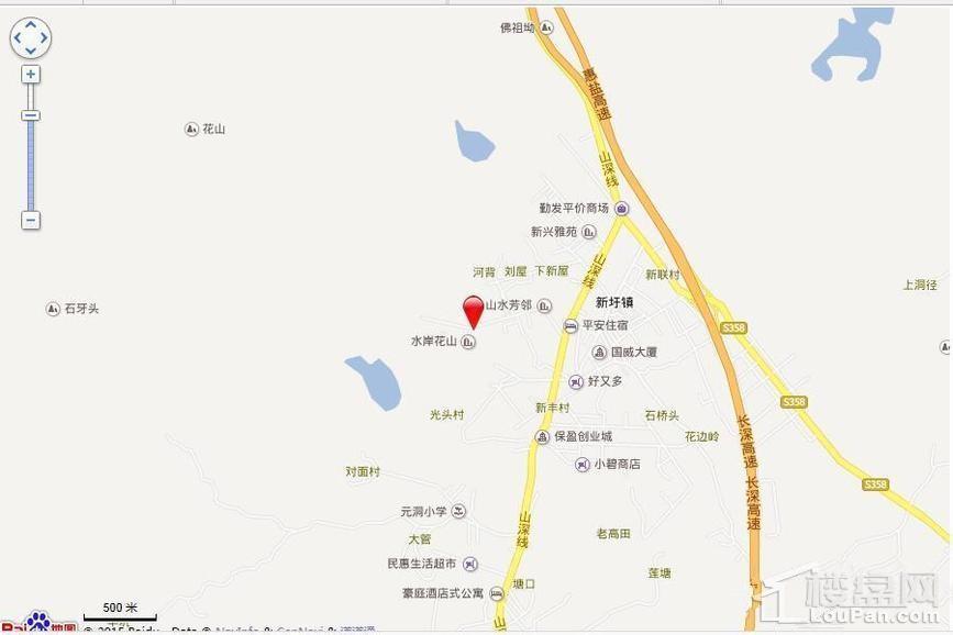 碧桂园翠湖湾位置图